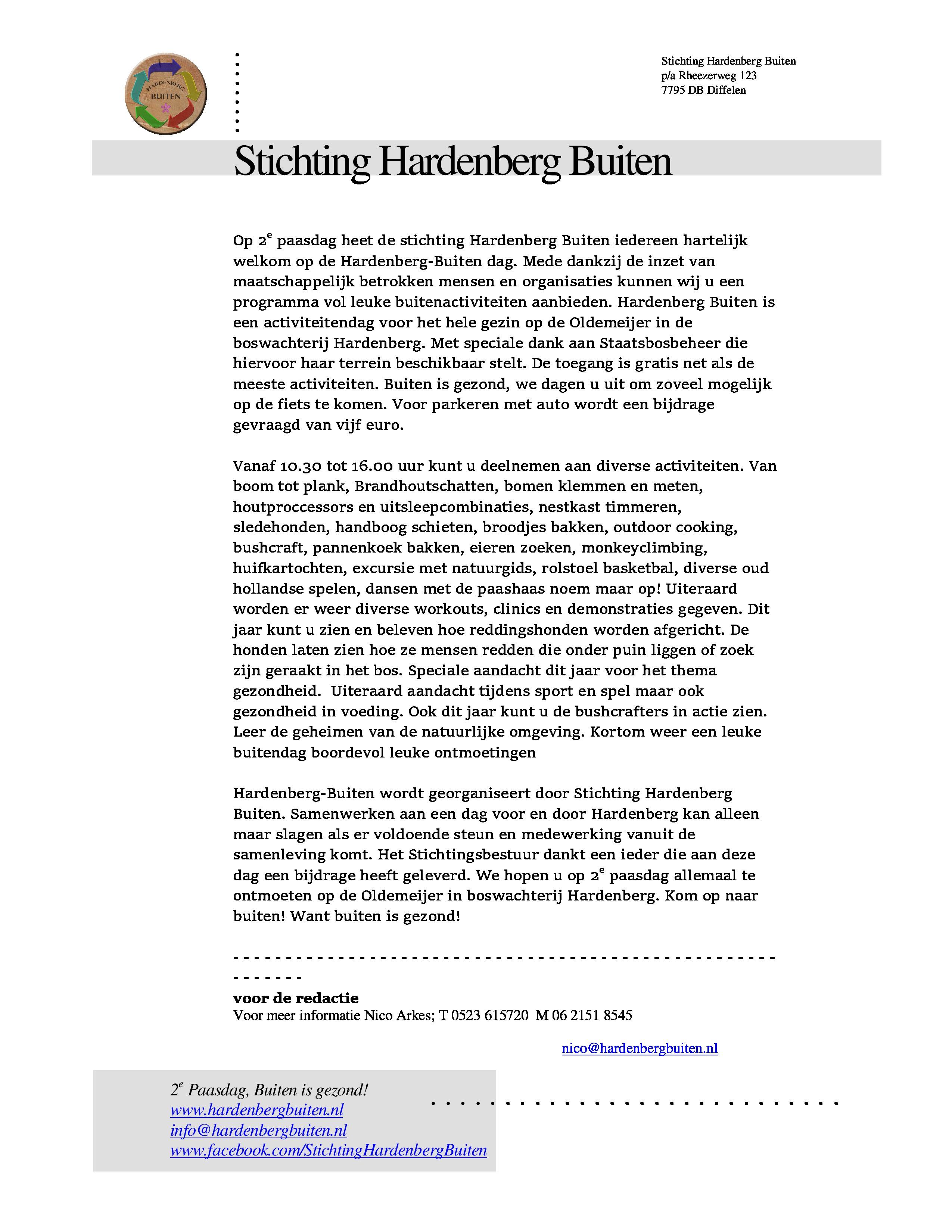 Persbericht Hardenberg buiten 2014 versie april
